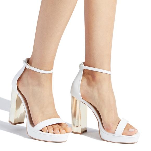 Platform Block Heel Sandals | Poshmark